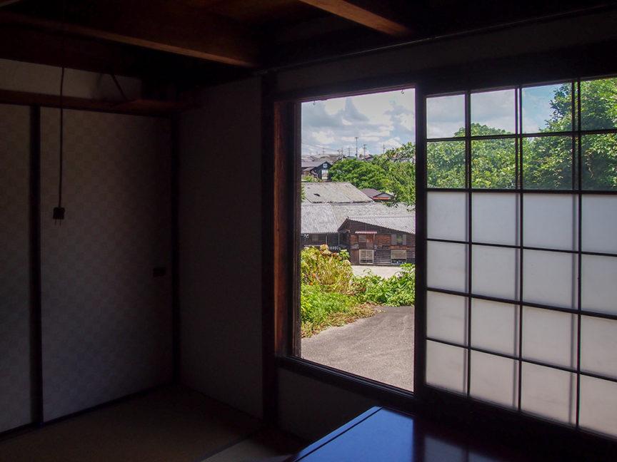 1階和室からの景色