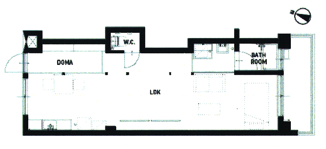 DIY大歓迎の賃貸アパート図面