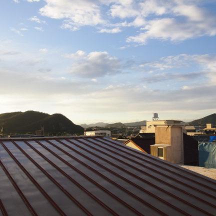 タカラヤビル4Fからの眺望