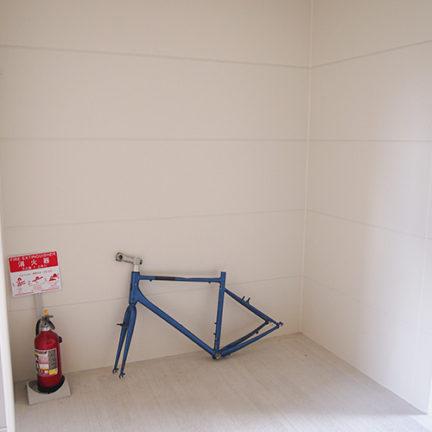 1F共有スペースには自転車ラック取付可
