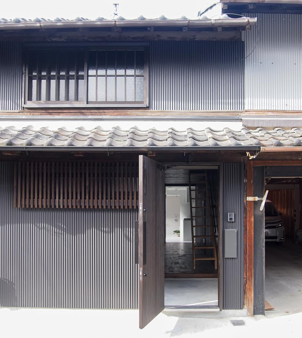 亀島の再生長屋
